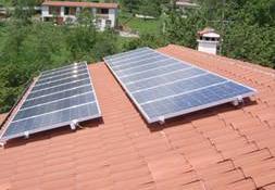 Fotovoltaico parzialmente integrato
