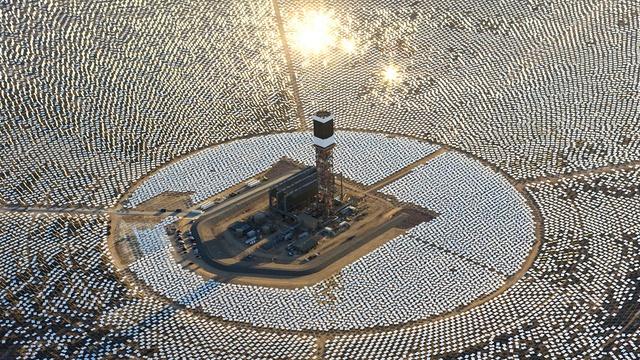 Solare termodinamico Ivanpah MOjave California