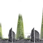 Il grattacielo cresce grazie ai rifiuti