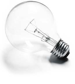 lampadina a incandescenza - non efficiente