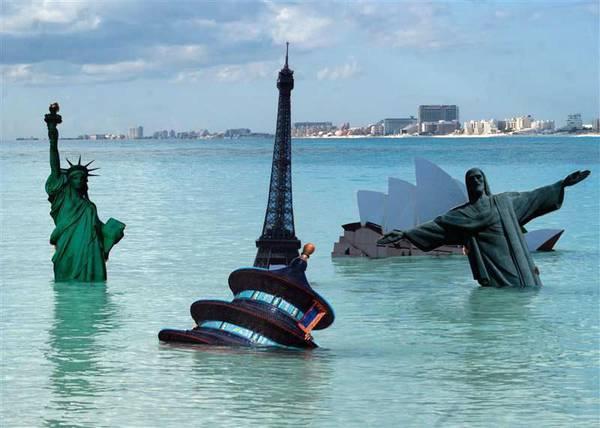 drammatiche conseguenze dei cambiamenti climatici.